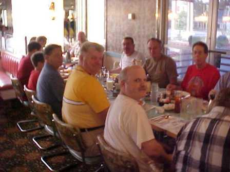 Asbury men gathered for monthly breakfast (Aug 2006)